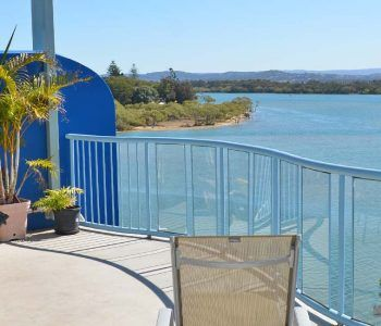 Riverfront accommodation Maroochydore